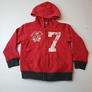 Arizona Jean Company Zip Front Hoodie Boys Sz 4T